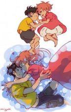 Ponyo's return  by Firebird4171