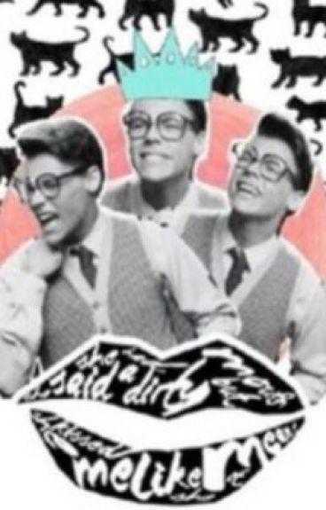 The Nerd Who Stole My Heart (A Marcel/Harry Styles Fan Fiction)