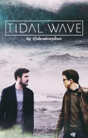 Tidal Wave by dwatercolour