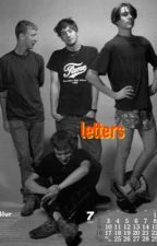 letters by parachutes-