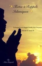 ✨Textes & Rappels Islamiques ✨ by MiissTurquish
