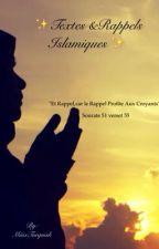 Citations Et Rappels Islamiques  by MiissTurquish