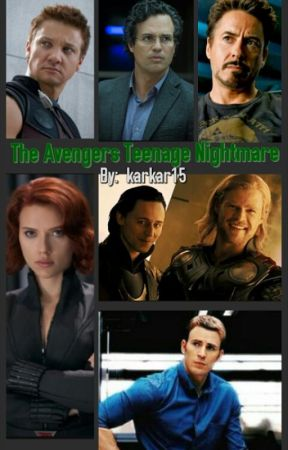 The Avengers Teenage Nightmare by karkar15