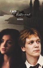 i am different || fred weasley + oc  by bookxnerds