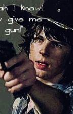 """An Angel With A Shotgun"" C.g by EvelynSaldico"