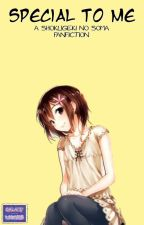 Special To Me ¦ Shokugeki No Souma ¦ Yukihira Souma X OC ¦  by GalaxyStars29