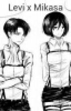 Levi x Mikasa by Nifa-w-