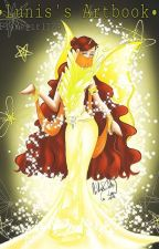 My artbook by Flamegirl124
