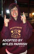 Adopted by Myles Parrish  (Myles Parrish) by kjw_ybm