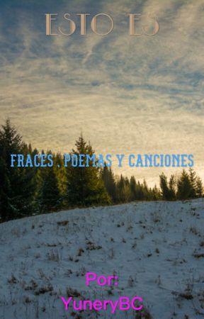Letras De Cancionespoemas Y Frases Daño Wattpad