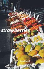strawberries √ matthew daddario by bandtrassh
