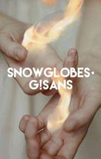 Snowglobes  ∆Gaster!Sans x Reader∆ by BoltsAndBones