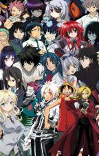 My Anime OC's by DeaththekidisHOT