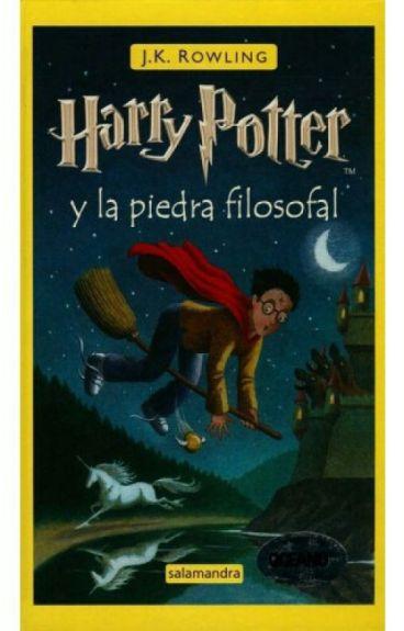 Leyendo Harry Potter Y La Piedra Filosofal