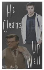 He Cleans Up Well (Marcel Styles/Larry Stylinson fanfic) by stylins0nfairy