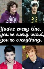 You're every line, you're every word, you're everything. || Larry Stylinson by xDreamerOfDreamsx