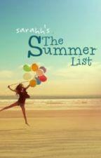 The Summer List {Hiatus} by luckyon3