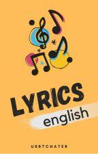 Lyrics by urbtchater