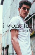 I won't tell ✦ j.g by hai133xwrites
