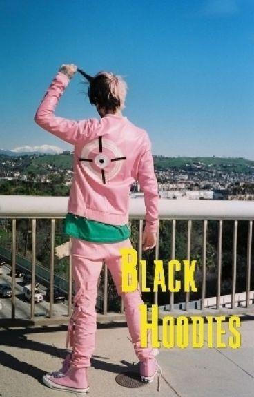 black hoodies PL | muke