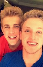 Logan Paul x Jake Paul by LucyMcNally