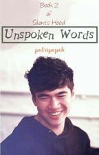 Unspoken Words // c.h [AU] by putripopoh