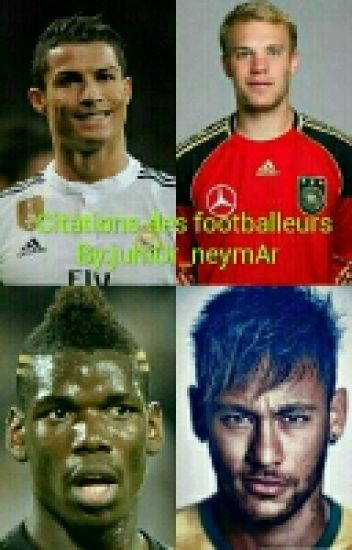 Citations des footballeurs