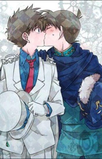 Himmelblau und Eisblau