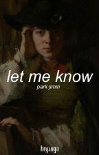 let me know ❀ pjm by HeySuga