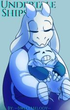Undertale Ships  Shipping Book by --SweetMelody--