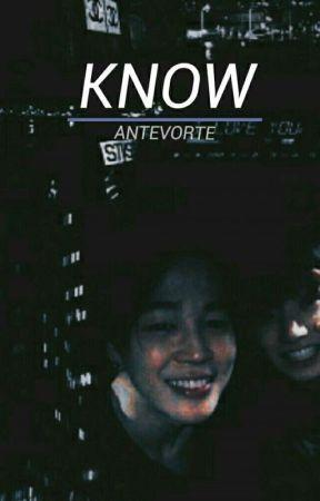 Know » Jikook √ by antevorte