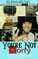 You're Not Sorry [Concluída] by ElenaSeung