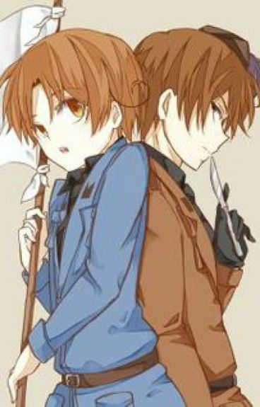 1p & 2p hetalia x reader: when worlds collide