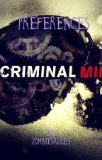 Criminal Minds Preferences by zombiesrules