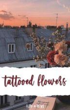 tattooed flowers ; 2jae by akajaebum
