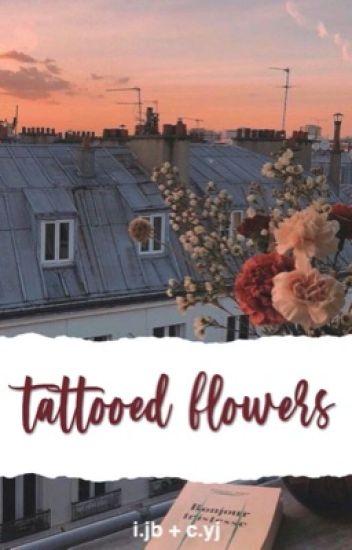 tattooed flowers | i.jb + c.yj