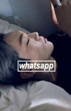 whatsapp ↔ {wonho} by baekbum