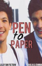 Pen To Paper (Lilo Paynlinson Teacher-Student) -COWRITTEN- < COMPLETE > by IHaveNiamFeels