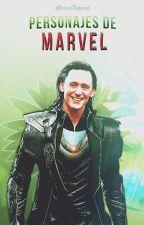 Personajes de Marvel by MarvelAwards
