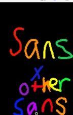 Sans X Sans (Sanscent) by Wingedwolf711