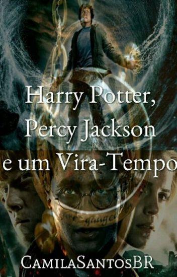 Harry Potter, Percy Jackson e um Vira Tempo