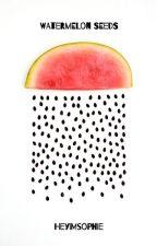 Watermelon Seeds by HeyImSophie