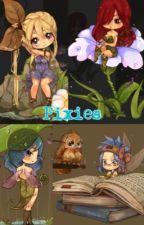Pixies(actually fairies but you know..) by OtakuTomaChan