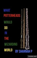 What Potterheads would do in the wizarding world by TheErkinshires