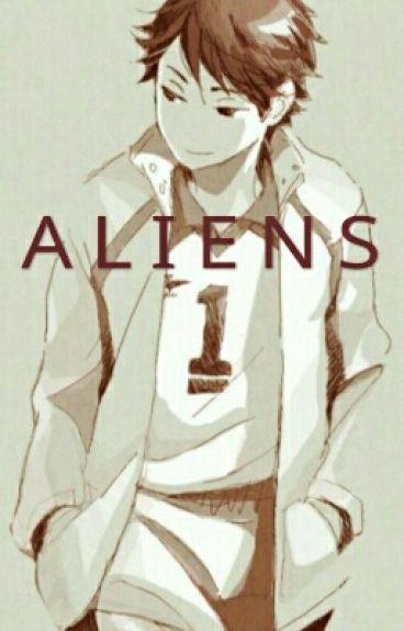 Aliens (Oikawa x OC)