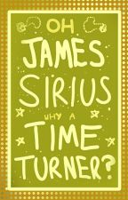 Oh, James Sirius, Why A Time Turner? by wandcookies