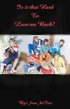Is It That Hard To Love Me Back? [P.Jm Ff] by i_love_btsTae
