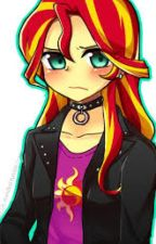 MLP Sunset Shimmer x  Reader by TheForgottenNight