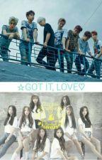 Got It, Love (Got7 & Lovelyz Fanfic) by hellohaafg