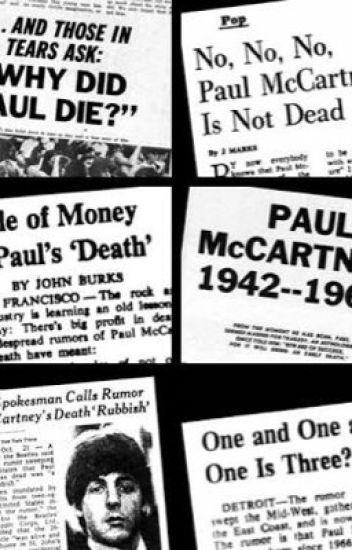 ¿Paul is dead?